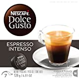 NESCAFE Dolce Gusto, Espresso Intenso, Espresso Coffee, Makes 48 Cups (3 Boxes 16 Capsules)