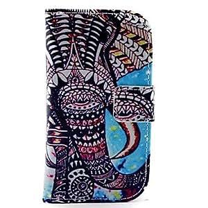 GX Teléfono Móvil Samsung - Carcasas de Cuerpo Completo - Gráfico - para Samsung S3 Mini I8190N ( Multi-color , Cuero PU )