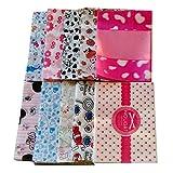 500 PCS Mixed Set Milk Candy Paper Twisting Wax Paper Wrappers 12*5CM-D
