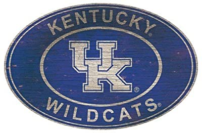 Fan Creations University of Kentucky 46 inch Heritage Logo Oval 46, Multi