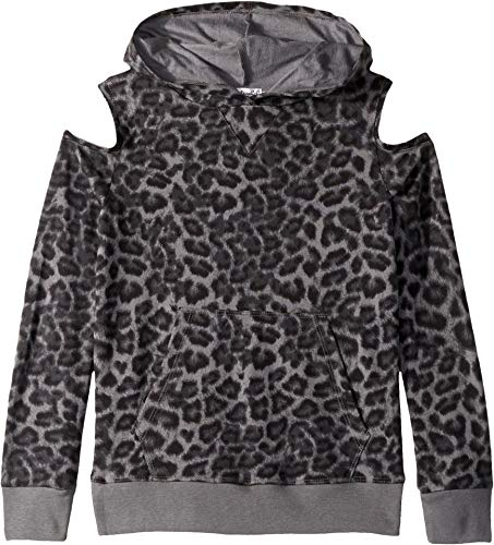 (Splendid Big Girls' Kids and Baby Hoodie Sweatshirt, Leopard Print, 12)