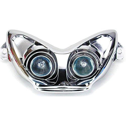 Maske Leuchtturm chrom one Tuning fü r Yamaha Aerox