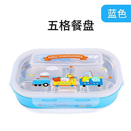 【激安大特価!】  Xing Lin幼児用フォークとスプーンsetbabyテーブルウェアfor Baby Tableware 4ピースのナイフとフォークとポータブルフォークスプーンボックス 6908945757512 Xing Tableware Blue five B078H7T75C (send spoon chopsticks) B078H7T75C, カメラ用品メーカー直営店-Metrix-:8442165b --- a0267596.xsph.ru