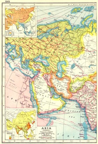 WEST ASIA:Arabia Iran Iraq Russia; Inset Rainfall, potion ... on grid map, wellington map, parallels on a map, general purpose map, world map, physical map, native alaskan language map, usa map, international border on a map, council of trent map, parts of a map, locator map, five elements of a map, breslau germany map, formosa on an asian map, scale on a map, elevation map, edinburgh postcode map, calgary canada map, political map,