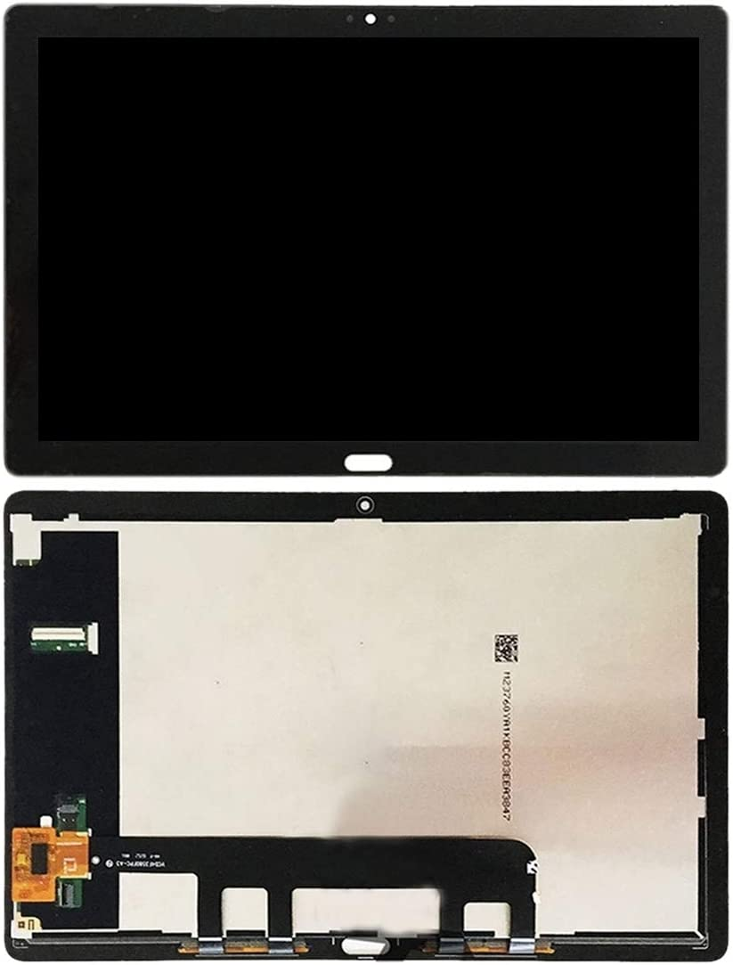 LCD Screen Replacement Black Nobrand MMLJUS for LCD Screen and Digitizer Full Assembly for Huawei MediaPad M5 Lite 10 BAH2-W19 BAH2-L09 Color : Black