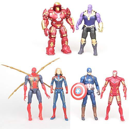 ATII Super Hero Adventures Ultimate Super Hero Set 16 Figures from Avengers Avengers: Infinity War