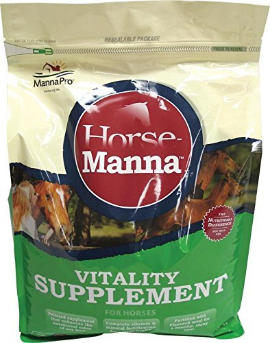 Manna Pro 0092192220 Vitality Equine Supplement for Horses, 11.25-Pound