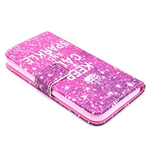 Yaobai-(coque apple iphone 6)Cuir Coque Case Etui Coque étui de portefeuille protection Coque Case Cas Cuir Swag Pour Iphone 6 (4.7inch)