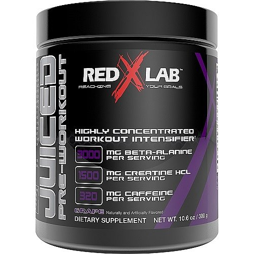 Red X Lab Juiced PreWorkout Grape 300 g