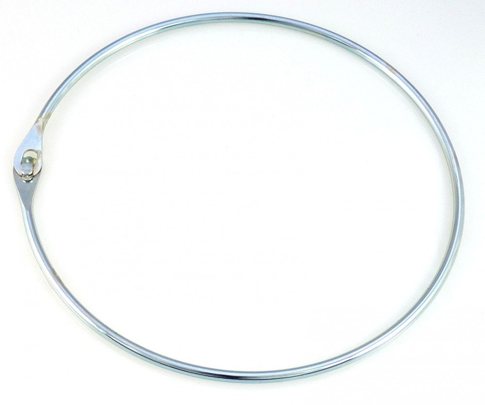 5 St/ück van den Heuvel Warenring aus Stahl geh/ärtet verzinkt 9 cm