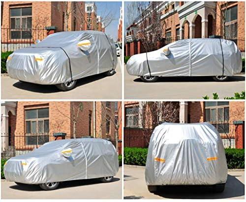 車のカバー 互換性といすゞViloran防水屋外カーカバー防雨全エクステリアカバーは暖かい防塵に対するスクラッチサンプロテクションモバイルガレージをキープ (Color : Silver Oxford)