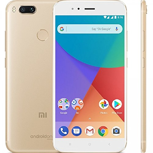 Xiaomi Mi A1 32GB, Factory Unlocked - North America Compatible Global Version (Gold)