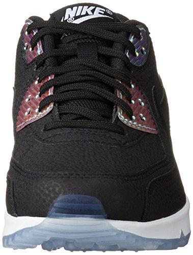 Nike 325213, Zapatillas Mujer Negro (BLACK/BLACK-PURE PLATINU)