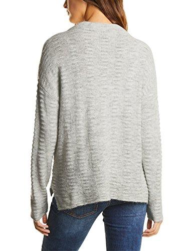 Structured Grau Neck Suéter Grey Pullover 10767 Street cyber Melange Para Turtle Mujer One Sqw5BBfxT