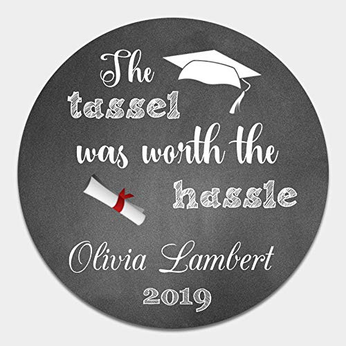 (40 Personalized Graduation Envelope Seals - Class of 2019 Party Favor Label Sticker - Customized Graduation Party)