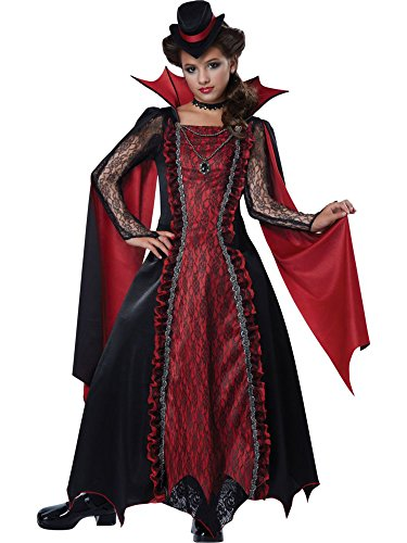California Costumes Victorian Vampira Child Costume