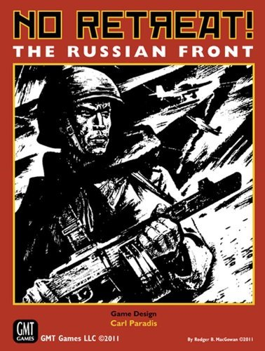 No Retreat! The Russian Front (No Retreat Board Game)