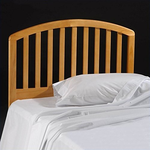 Hillsdale Carolina Headboard, Bed Frame Not Included, Twin, Country Pine