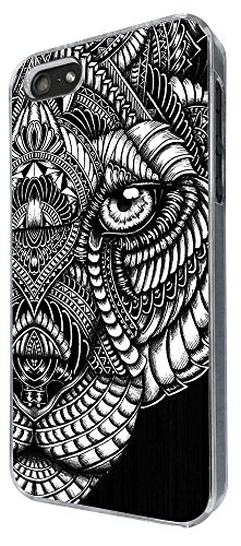 462-aztec tiger face black and white Design Pour iphone 6 4.7'' / iphone 6 plus 5.5'' / iphone 4 4S / iphone 5 5S / iphone 5C Coque Fashion Trend Case Cover plastique et métal-S'il vous plaît choisiss
