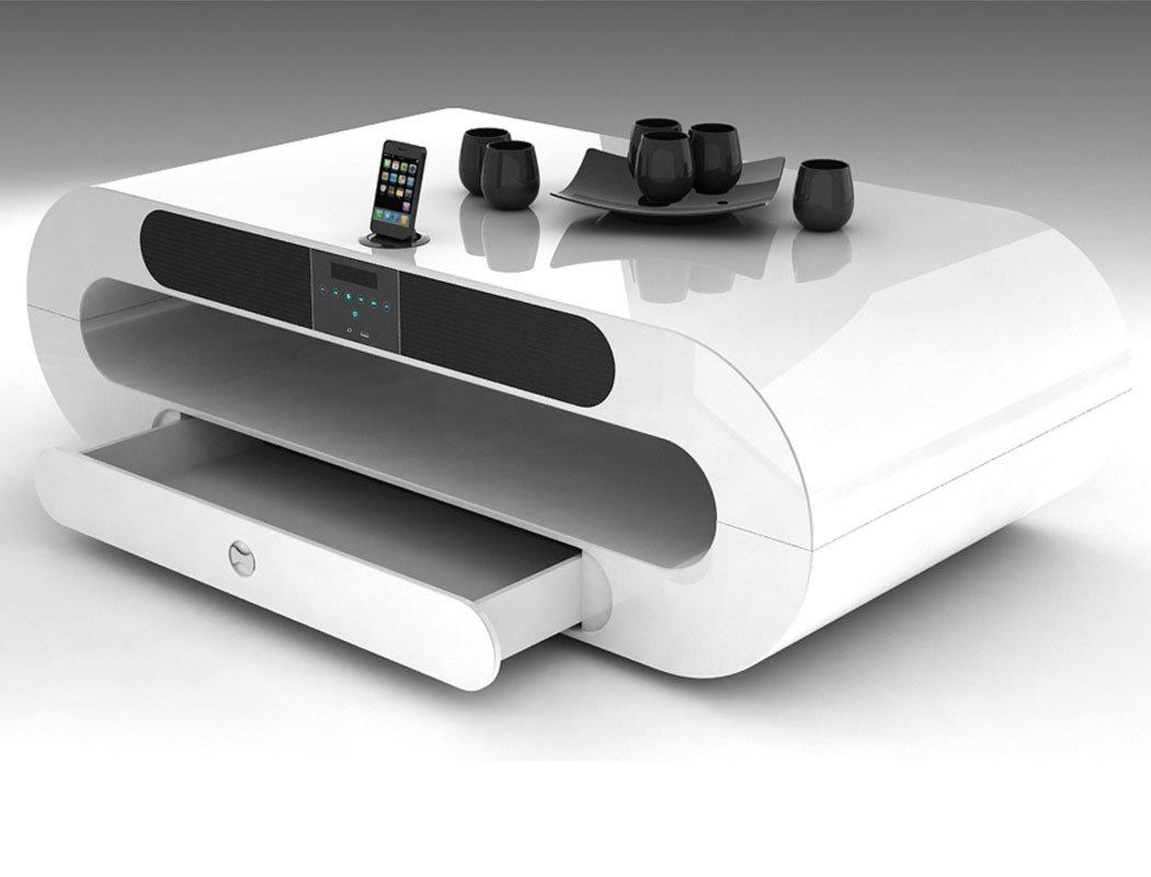 Couchtisch modernes design  Couchtisch weiß hochglanz – Designer Tisch für das moderne ...