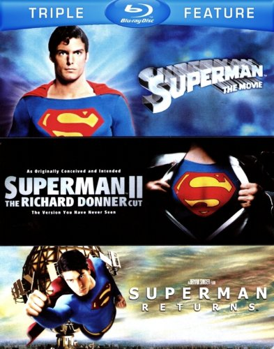 Superman Blu-ray Triple Feature (Superman: The Movie / Superman II: The Richard Donner Cut / Superman Returns)