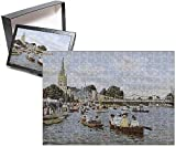Photo Jigsaw Puzzle of Marlow, Buckinghamshire - Jolly Boats on the River Thames