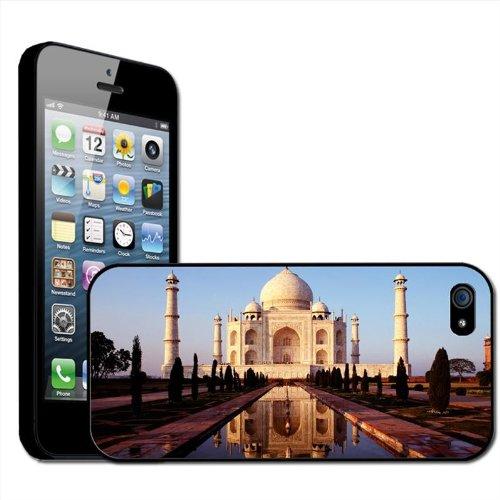 "Fancy A Snuggle Schutzhülle, Hard Case für Apple iPhone 5, Motiv ""Taj Mahak, Indien"", zum Anklippen"