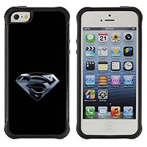 King Case@ Superhero S Rugged hybrid Protection Impact Case Cover For iphone 5S CASE Cover ,iphone 5 5S case,iphone5S plus cover ,Cases for iphone 5 5S