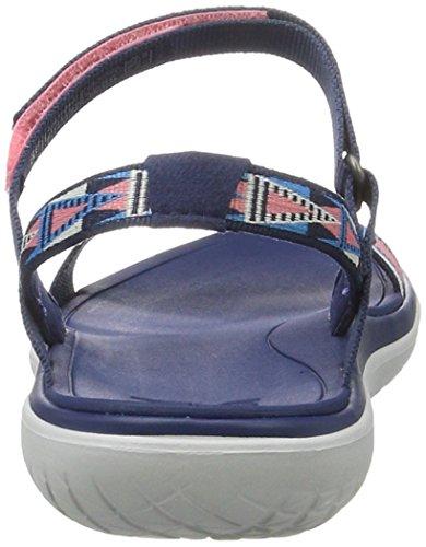 Teva W Terra-Float Nova, Zapatillas de Atletismo para Mujer Rosa (Fondant Pink Fbnk)