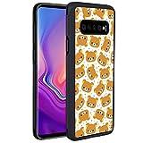 Case TPU+PC for Galaxy S10 (2019) [6.1-Inch] Animals Bear Rilakkuma