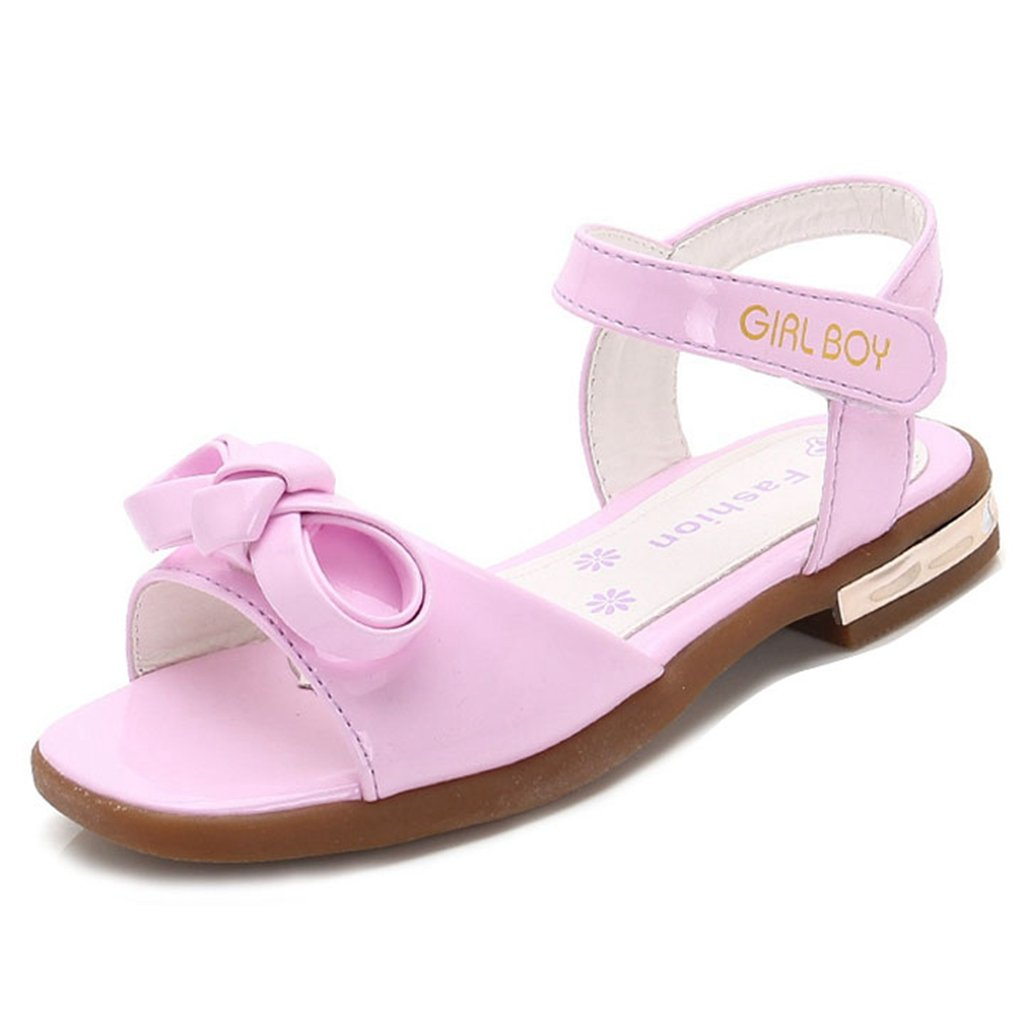Toddler Girl's Summer Open Toe Strap Athletic Sandals Summer Flat Princess Shoes(Toddler/Little Kid)