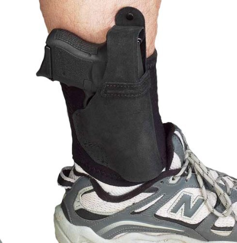 Galco Ankle Lite / Ankle Holster for Glock 26, 27, 33 (Black, ()