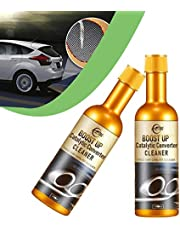 Instant Car Exhaust Handy Cleaner, Boost Up Vehicle Catalytic Converter Cleaner, Engine Booster Cleaner 120 ml, Safe & Effective for Vehicles(2PCS)