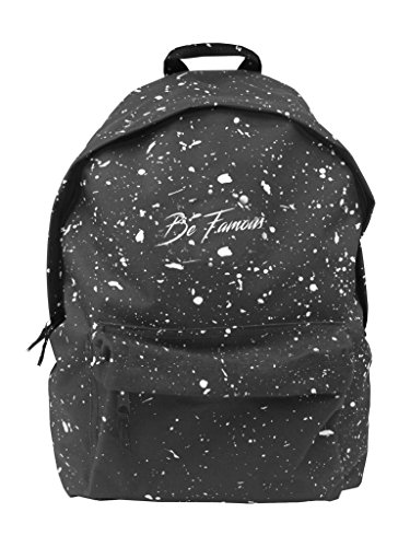 Be Famous splattern fotocamera//Backpack Antracite