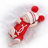 Silicone Reborn Baby Dolls Look Real Girl Knitted