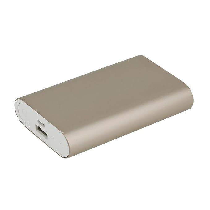 Mini 8400 mAh Banco de alimentación portátil cargador rápido ...