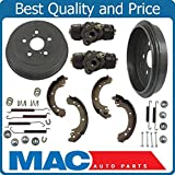 2 Rear Brake Drums Shoes and Springs Prius Mac Auto Parts 40512 Toyota Corolla Built In Japan