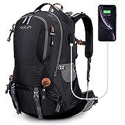 G4Free 50L Rucksack Hiking Backpack Mountaineering Bag Waterproof Travel Camping Trekking Daypack Outdoor Sports…