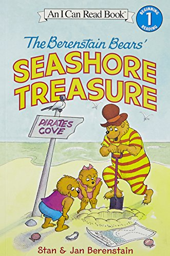 Treasure Bear - The Berenstain Bears' Seashore Treasure (I Can Read Level 1)