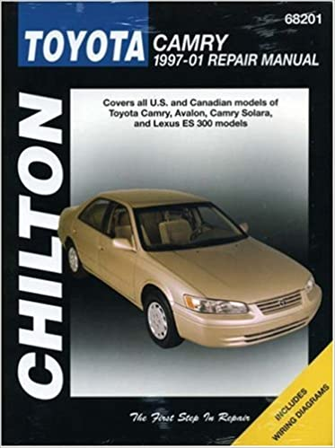Toyota camry chiltons 1997 2001 repair manual chilton toyota camry chiltons 1997 2001 repair manual 1st edition sciox Choice Image