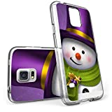 S5 Case Christmas Design Holiday snowman