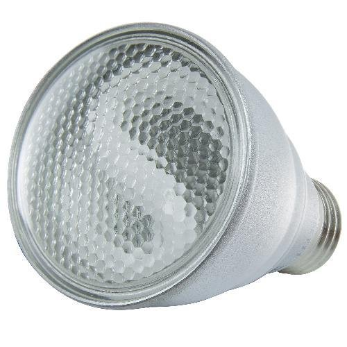 Sunlite SL9PAR20/AL/E/30K SL9PAR20/AL/E/30K 9-watt PAR20 Aluminum Reflector Energy Star Medium Base CFL Light Bulb, Warm White by Sunlite