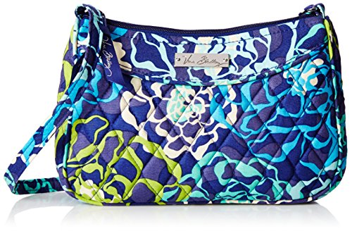 Vera Bradley Little Cross Body Bag Katalina Blues One Size