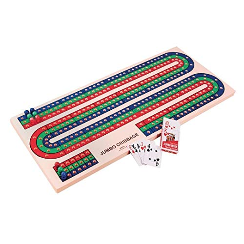 S&S Worldwide W9994 Jumbo Foam Cribbage Board