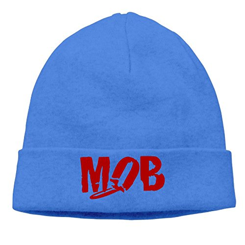The Mob English Anarcho-punk Band Knit Beanie Hat Unisex Sports Caps (Best Anarcho Punk Bands)