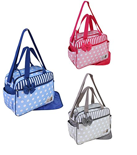 GMMH 2piezas bolso cambiador 3110Bolsa de bolsa para pañales Baby funda Selección de Colores azul azul azul