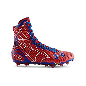 Under Armour Men's Alter Ego Highlight MC Football Cleats 12 Red