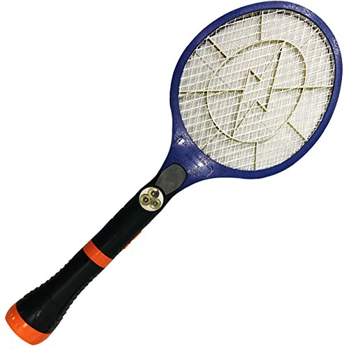 Electric Bug Zapper Racket Fly Mosquito And Bug Swatter For Indoors and Outdoors- By Creatov