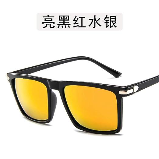 Yangjing-hl Gafas Montura Gafas Espejo Gafas Brillantes ...
