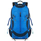 Gonex 35L Hiking Backpack Mountaineering Bag, Rain Cover Included Blue Review
